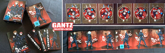 Gantz - Collector's Edition © 2004 Hiroya Oku / SHUEISHA - GANTZ Partners