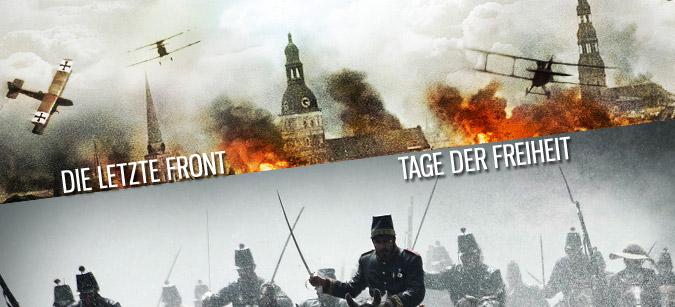 Historische Schlachten, neu verfilmt © Pandastorm Pictures